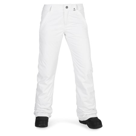 Volcom Snowboarding Jacket - Volcom 2018 Frochickie (White) Insulated Women's Snowboard Pants-XSmall