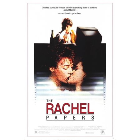 The Rachel Papers Movie Poster Print  27 X 40