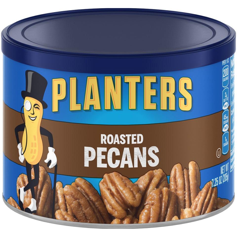 Planters Roasted Pecans, 7.25 Oz