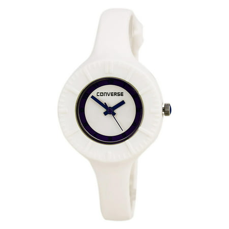 VR023-100 Women's The Skinny White Dial White Plastic Analog Watch