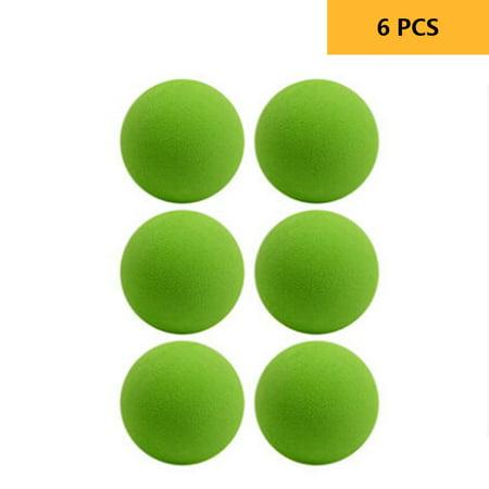 6PCS Professional Golf Training Ball Kids Beginner Practice Ball Golf Club EVA Soft Ball Golf Sports Equipment