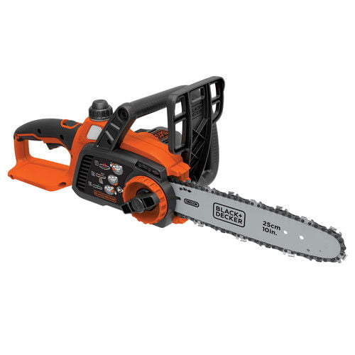 "Click here to buy Black & Decker LCS1020B 20V MAX Cordless 10"" Lithium-Ion Chainsaw (Bare Tool) by Stanley Black & Decker."