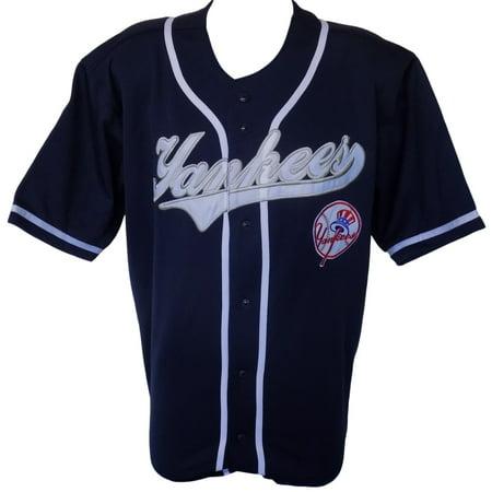 New York Yankees True Fan Replica Navy Jersey Size X-Large by
