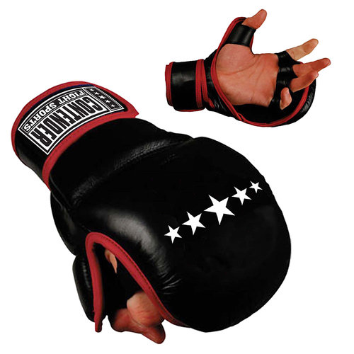Contender Fight Sports Classic MMA Ultra Training Gloves, Black