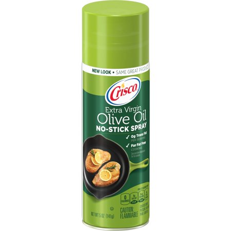 (2 Pack) Crisco Olive Oil No-Stick Cooking Spray, (Best Healthy Cooking Oil For Frying)