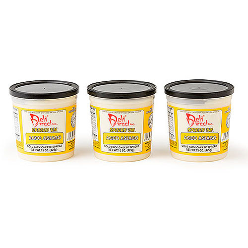 Deli Direct Spread 'Um Aged Asiago Cheese Food, 45 oz