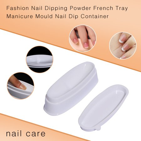 Cool Halloween Manicures (Fashion Nail Dipping Powder French Tray Manicure Mould Nail Dip)