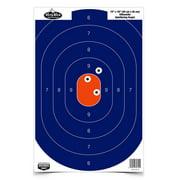"Birchwood Casey 35718 Dirty Bird Silhouette 12"" x 18"" Target 8 Pack Blue/Orange"