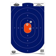 "Birchwood Casey 35718 Dirty Bird Silhouette 12"" x 18"" Target 8 Pack Blue/Orange"