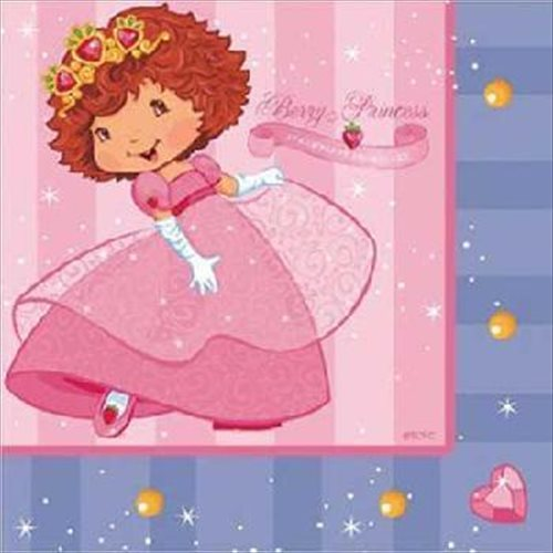 strawberry shortcake 'berry princess' lunch napkins (16ct)