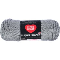 Red Heart Super Saver Dusty Grey Yarn, 364 Yd.