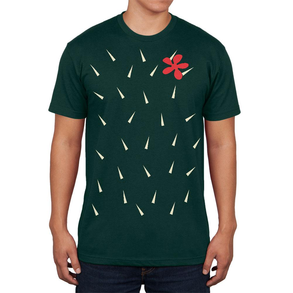 Halloween Cactus Costume Mens T Shirt