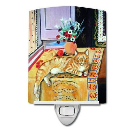 Carolines Treasures 7079CNL Cat Ceramic Night Light - image 1 of 1