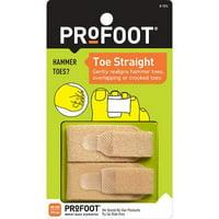 Profoot Toe Straight Hammertoe Wrap, 2 Ct