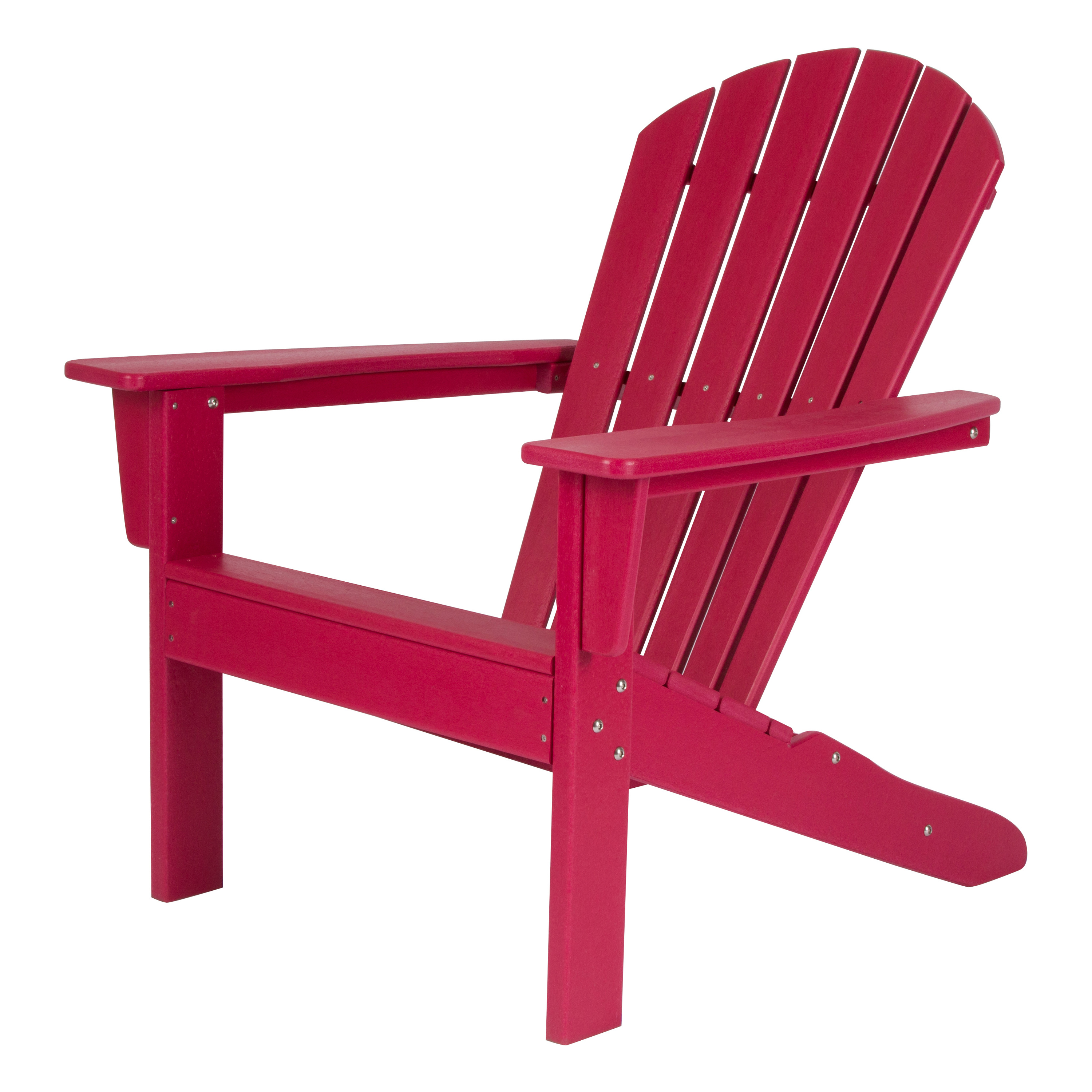 Shine Company Seaside Adirondack Chair - Chili Pepper