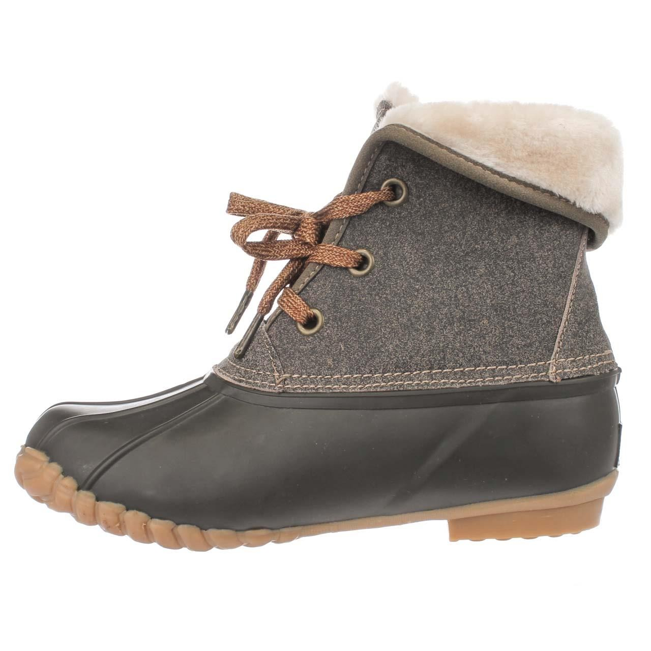 Sporto Womens Diana Leather Closed Toe Ankle Cold Weather...