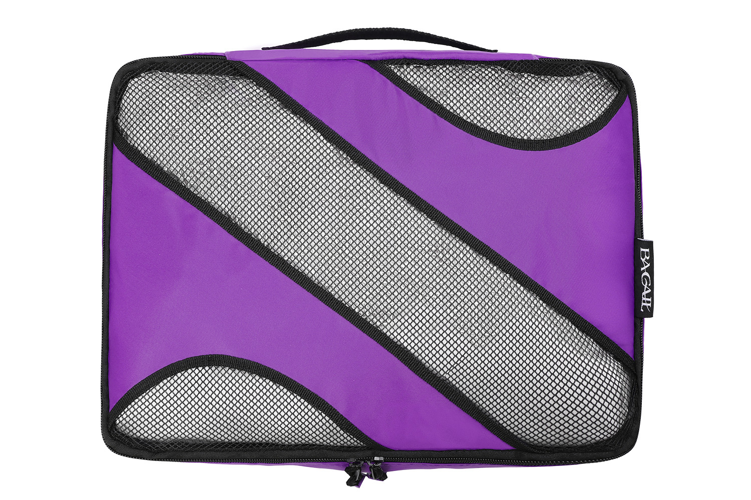r Happy Purple Dragon 3 Set Packing Cubes,2 Various Sizes Travel Luggage Packing Organizers