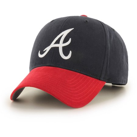 fdbf2ec4c35 MLB Atlanta Braves Basic Cap   Hat by Fan Favorite - Walmart.com