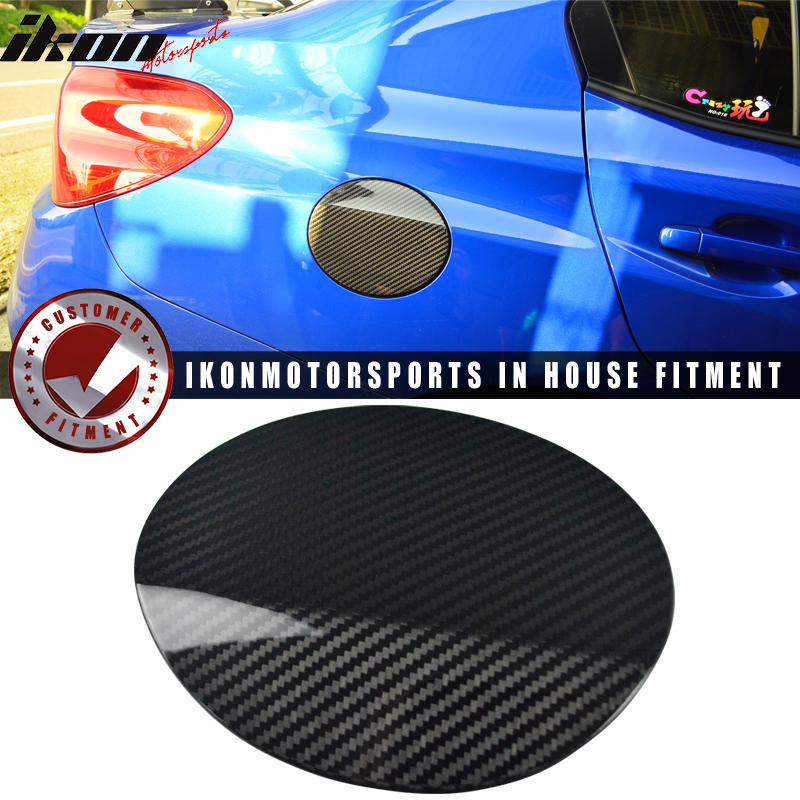 For 15-17 Subaru WRX Sedan Fuel Tank Cap Cover Trim