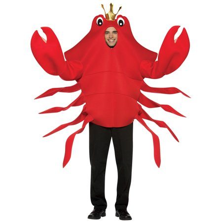 King Crab Adult Halloween Costume - Crab Halloween Costume For Adults