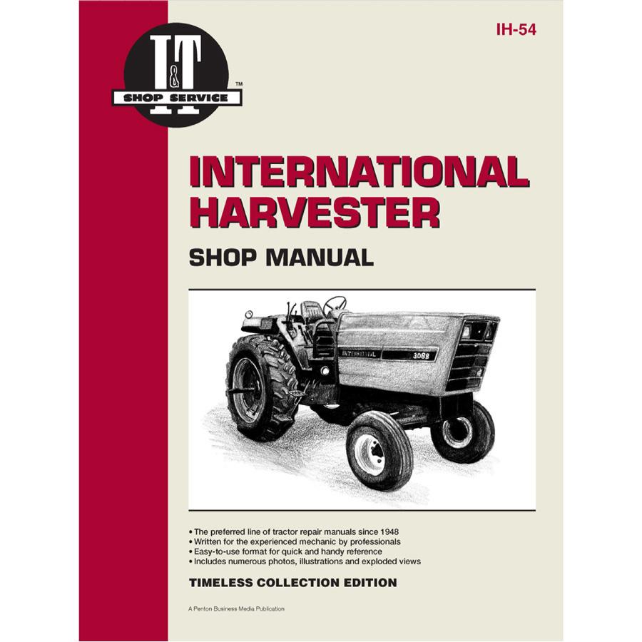 service manual case international tractor ih 54 3088,3288,3488 hydro,3688 1942 Farmall H Wiring Diagram