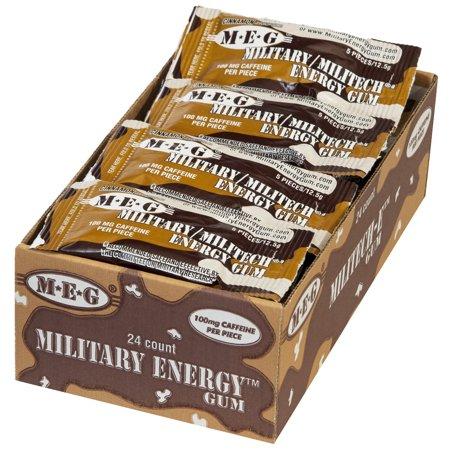 Kokos Confectionary Stay Alert Chewing Gum, 24 ea