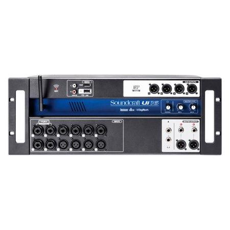 soundcraft ui16 16 input digital mixer w wifi app control recording ui 16. Black Bedroom Furniture Sets. Home Design Ideas