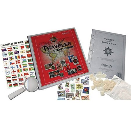 Traveler World Wide Stamp Collecting Kit by Harris (Stampy Halloween World)