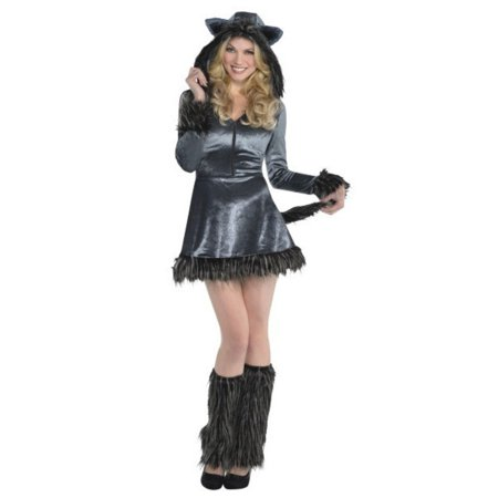 Howling Hottie Wolf Adult Womans Medium 8 -10 Halloween Costume