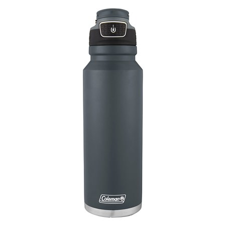 Coleman AUTOSEAL FreeFlow Stainless Steel Insulated Water Bottle, 40oz
