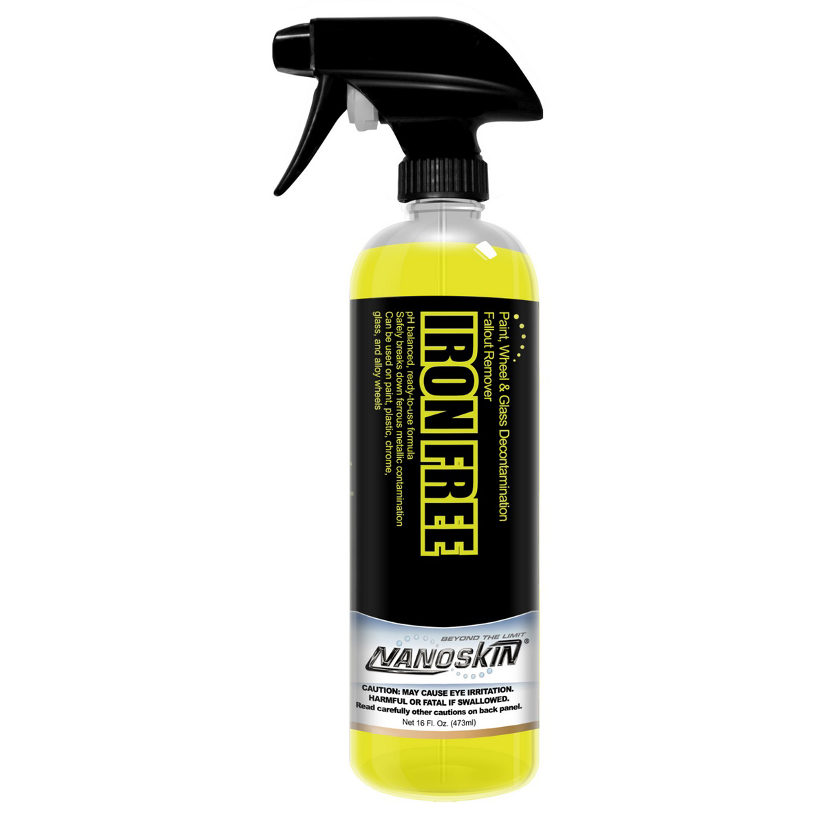 Nanoskin (NA-IFE16) IRON FREE , Wheel And Glass Decontamination Fall Out Remover - 16 oz.