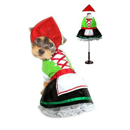 Alpine Costumes For Dogs Octoberfest Bavarian Beer Maiden Costume Or Swiss Boy (Size 2 Alpine Girl Costume)