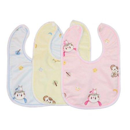 2e290e071426e Fancyleo Cotton Bib U-Shaped Baby Saliva Towel Waterproof Anti-spitting  Milk Children Cartoon Bib 3PCS/Set