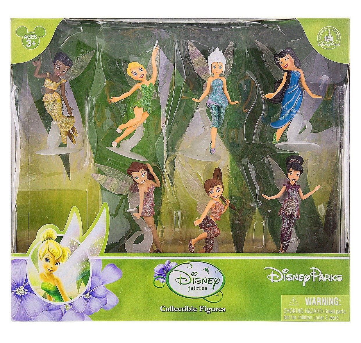 disney parks tinker bell and fairies playset new with box
