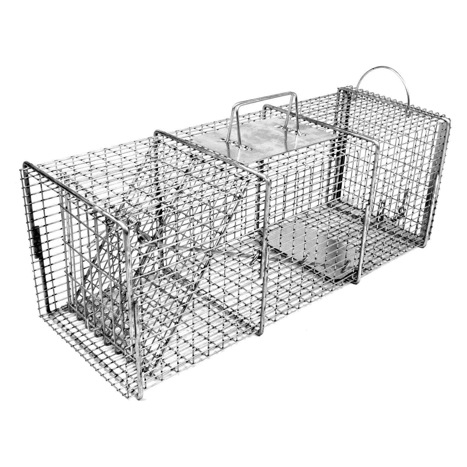 Tomahawk Professional Series Rigid Trap with Easy Release Door for Cats and Rabbits