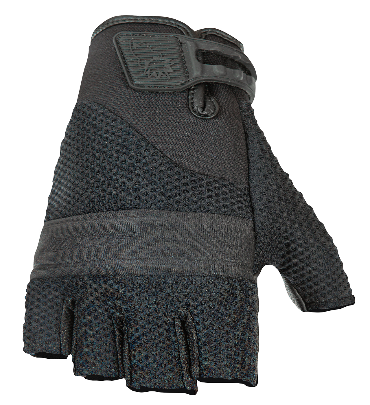 Joe Rocket Vento Fingerless Glove Gloves Black
