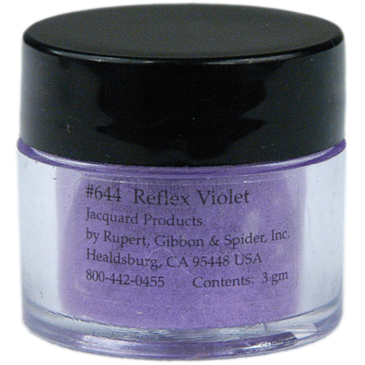 Jacquard Pearl EX Powdered Pigments 3 Grams-Reflex Violet Multi-Colored