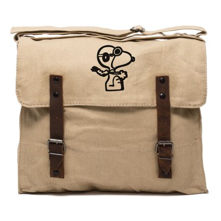 Snoopy Flying Ace Army Heavyweight Canvas Medic Shoulder