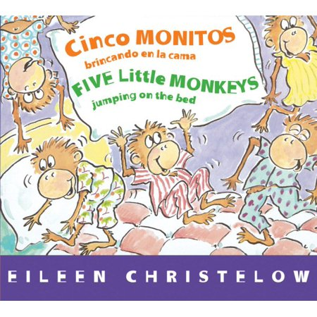 Cinco Monitos Brincando En La Cama   Five Little Monkeys Jumping On The Bed