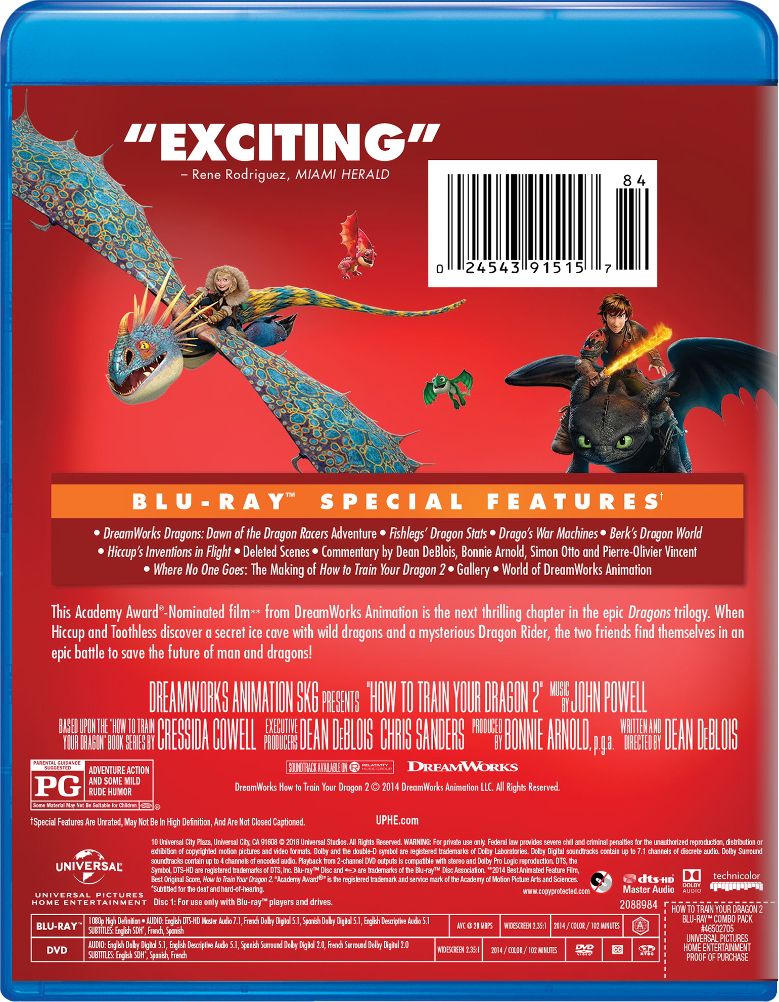 How to train your dragon 2 blu ray walmart ccuart Choice Image