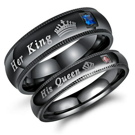 ArcoIrisJewelry - Couple's Matching Promise Ring