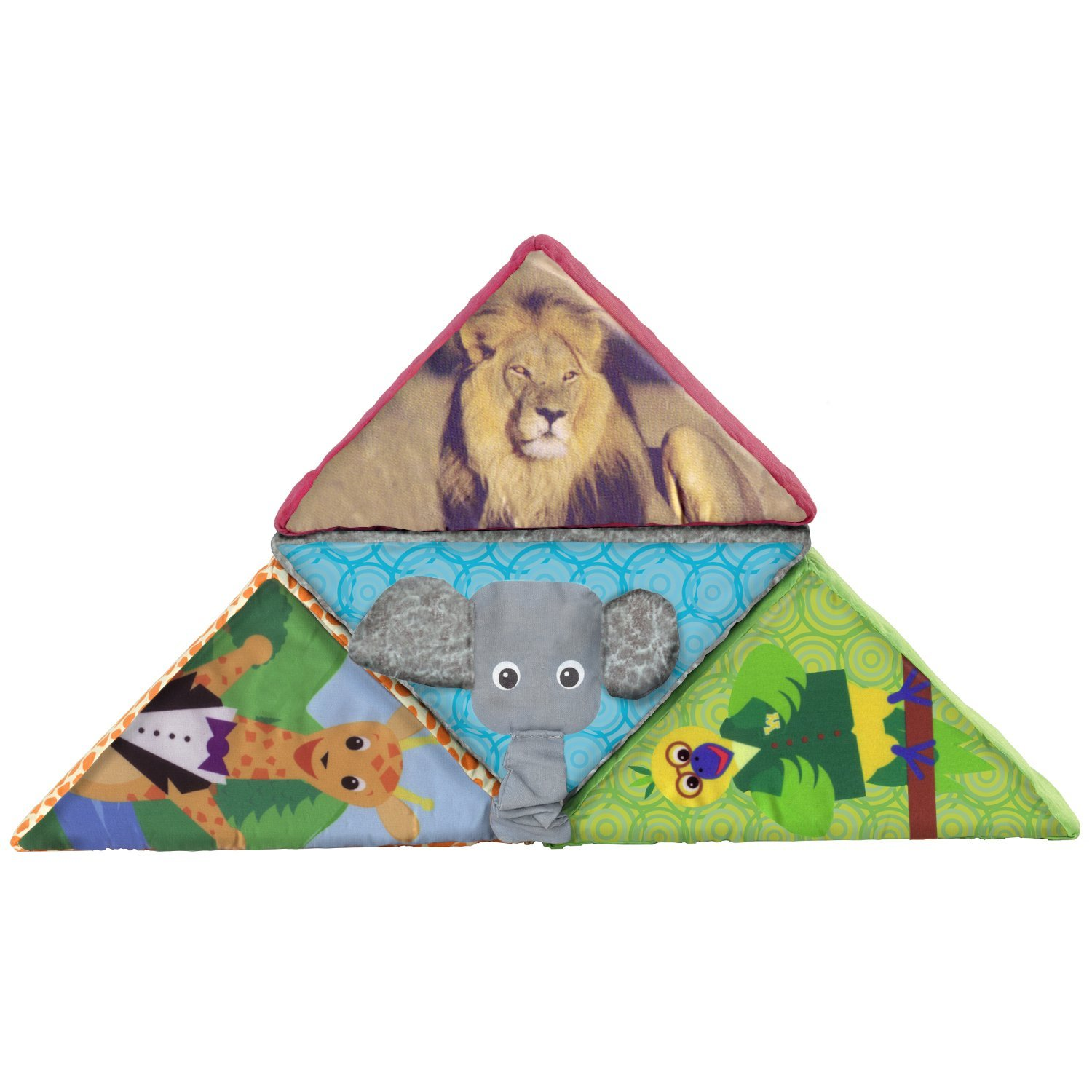 Animal Discovery Block Set - Neutral (Discontinued by Manufacturer), Three melodies By Baby Einstein Ship from US