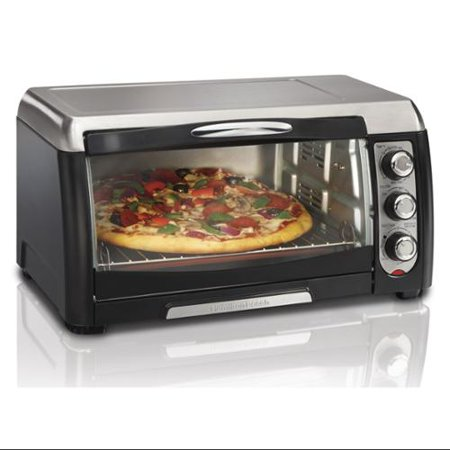 ... Convection Counter Top 6 Slice Toaster Oven Stainless - Walmart.com