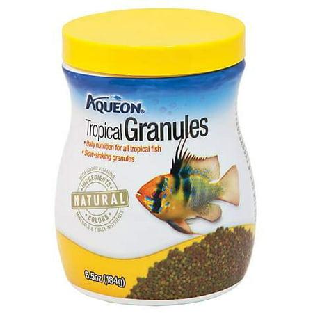 Aqueon Tropical Granules Tropical Fish Food, 6.5 oz (pack of 1)