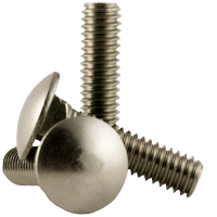 "5/16""-18x1 1/2"" Carriage Bolt, Stainless Steel (18-8), (inch) (Quantity: 100)"
