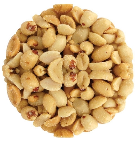 Blanched Roasted Salted Extra Large Virginia Peanuts, (10 Pounds)