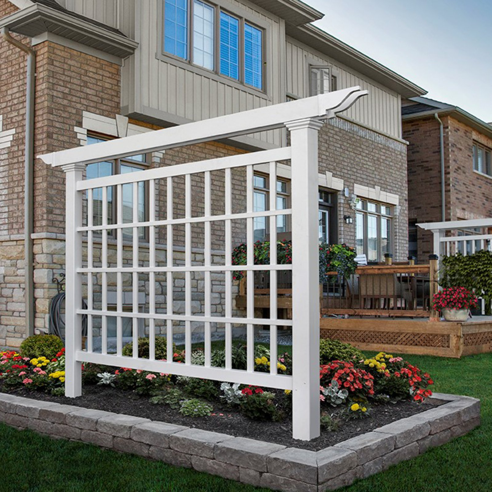 New England Arbors Camden Privacy Screen by New England Arbors