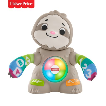 Fisher-Price Linkimals Smooth Moves Sloth, with Music &