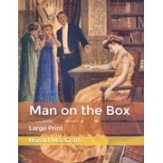 Man on the Box: Large Print (Paperback)