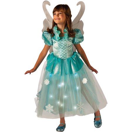 Winter Fairy Light-Up Child Halloween Costume